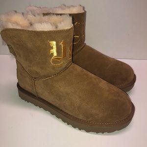 Jeremy Scott UGG Life Classic Mini Suede Boots
